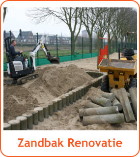 Zandbak Renovatie